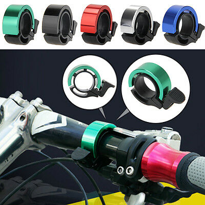 Alloy Mountain Cycling Bike Handlebar Invisible Clamp Ring Horn Mini Bell