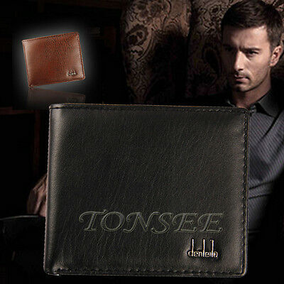 Modern Mens Leather Trifold Wallet Credit/ID Card Coin Holder Purse Slim Wallet