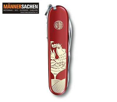 Victorinox Huntsman Year of the Rooster 2017 limited1.3714.E6 NEU LAGERND SOFORT