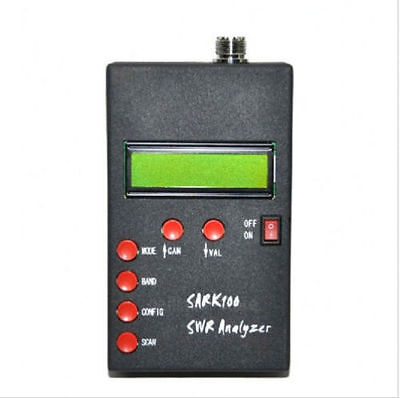 SARK100 ANT SWR Antenna Analyzer Meter Tester For Ham Radio