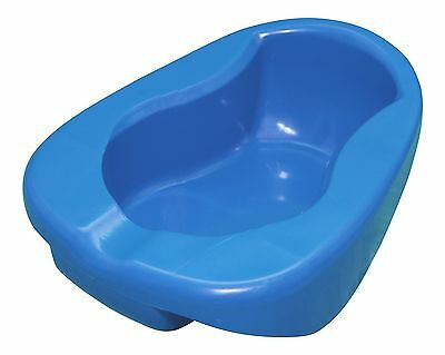 Dannys World Conventional Plastic Bed Pan with Contoured Shape Adult Size