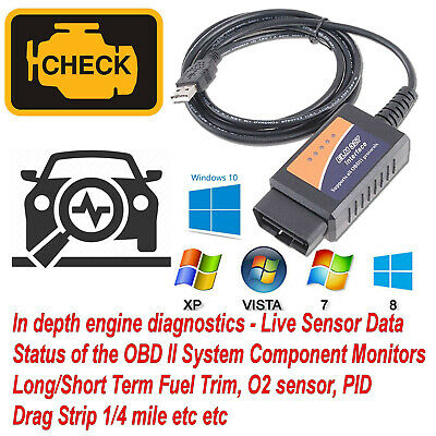OBD2 Software and lead