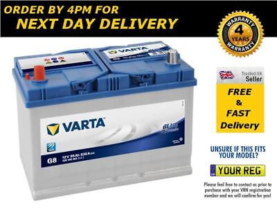 Type 334 Titanium  Car Battery 12V 91Ah - 4 Year Warranty