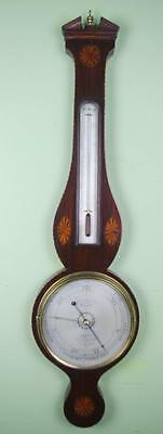 A GOOD WHEEL BANJO BAROMETER- Francis Saltery,London
