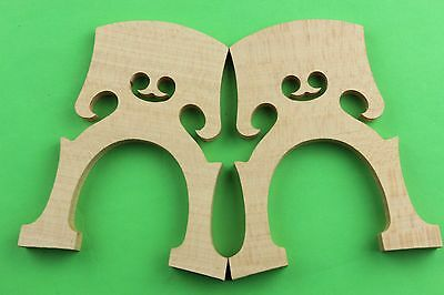10 pcs new student 3/4 cello bridges. cello parts