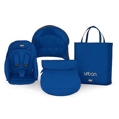 NEW Chicco Urban Blue Color Pack For Stroller