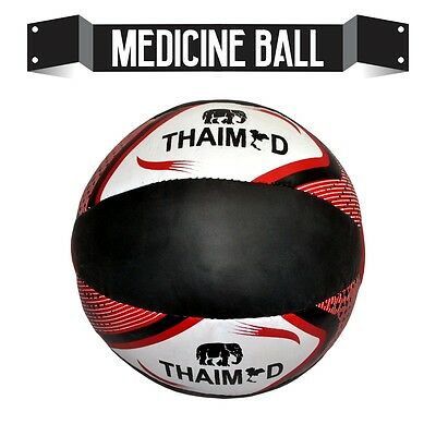 5KG Medicine Ball With Free Jumping/Skipping Rope Fitness Exercise Gym Training