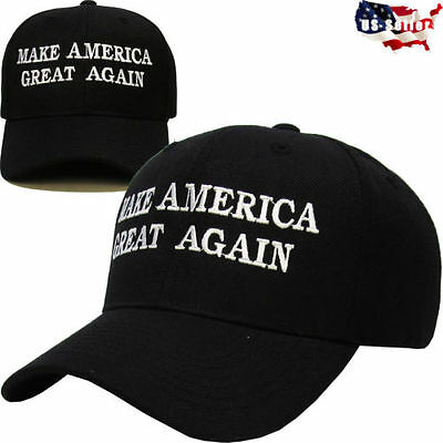 Fashion Make America Great Again - Donald Trump 2016 Hat Cap White - Republican.