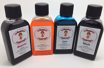 Katies Edible Ink To Refill Canon PGI-550 And CLI-551 Edible Ink Cartridges