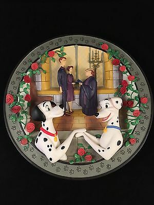 Disney's 101 Dalmatians Limited Edition Collectible 3D Plate #8629 out of 15K