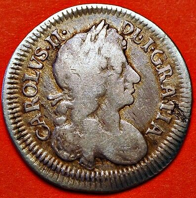 Great Britain. 4 Pence (Groat) Silver 1683. KM#434