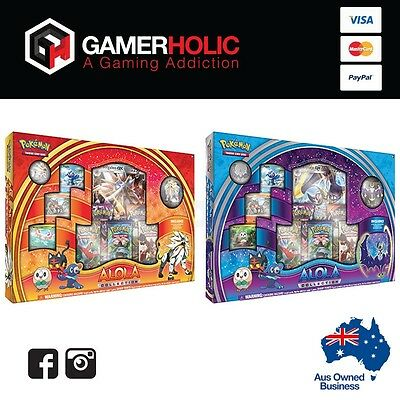 POKEMON TCG Sun and Moon - Alola Collection Box - Both Boxes Brand New IN STOCK
