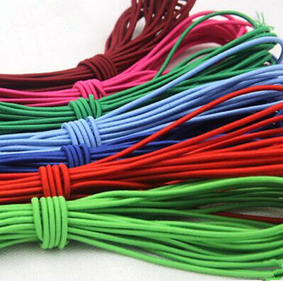 3m Rubber Band Elastic Rope Diameter 3mm For Leather Craft DIY Tool