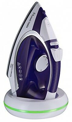 Russell Hobbs 23300 Freedom Cordless Iron, 2400 W, Purple/White