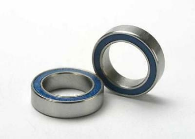 Traxxas Ball Bearings, Blue Rubber Sealed (10X15X4mm) (2) - Z-TRX5119