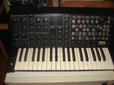 Korg MS20 MS 20 MS-20 Analog Synth mit Patchfeld