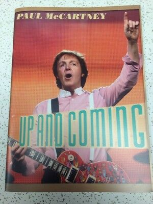 PAUL McCARTNEY UP & COMING MARCH 2010 - JUNE 2011 TOUR BOOK PROGRAM NEW 5TH