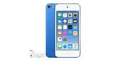 Apple iPod touch 6th Generation Blue (32GB) Apple Warranty after activation