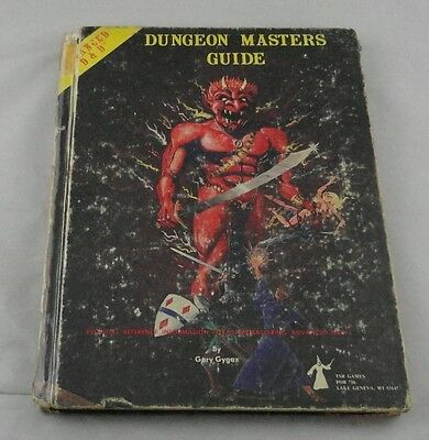 AD&D Advanced Dungeons & Dragons Dungeon Masters Guide (1979)