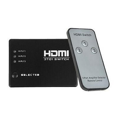L029 - HDMI Switch 3 Porte con telecomando