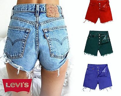 Grade A Vintage Levis 501 Ultimate Denim High Waisted Shorts W25 W26 W27 W28 W29