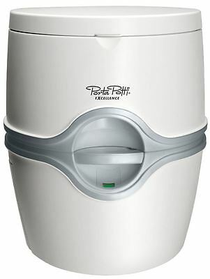Thetford Porta Potti Excellence Electric Flush Portable Camping Chemical Toilet