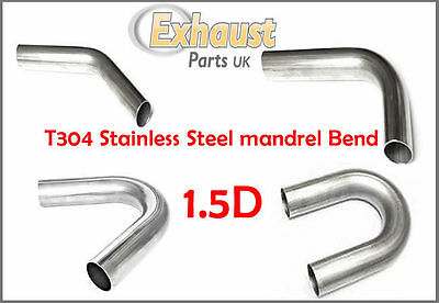 Tight Small Stainless Steel Mandrel Bend 48mm Radius Exhaust Manifold 1.5D Offer