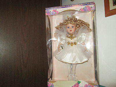 Victorian Rose Collect Genuine Porcelain Doll Melissa Jane  Vintage Doll NEW