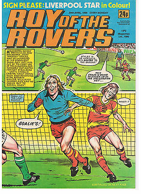 Buy Individual Roy of the Rovers 1985/86/87/88/89 Comics  VGC+ See list