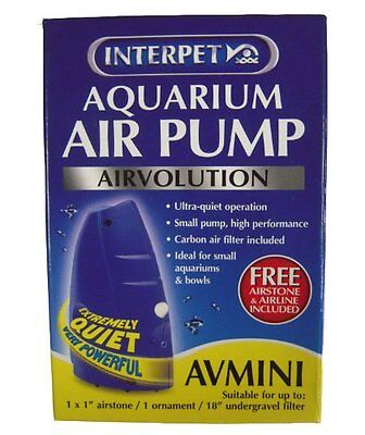 Interpet Airvolution Aquarium Air Pump - Mini