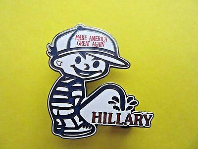 Limited Edition Donald Trump President 2016 Make America Great Lapel or Hat Pin