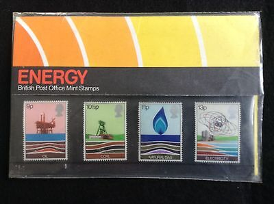 GB Royal Mail 1978 Presentation Pack #99 ENERGY - Low S&H