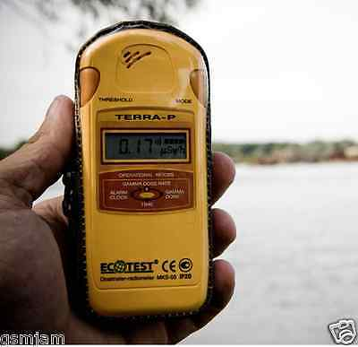 Personal radiation monitoring device Up to 6000h battery life Terra-P Dosimeter