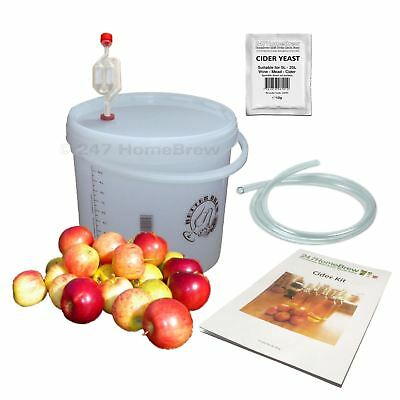 Cider Making Kit - Full Starter - 10L/2 Gallon/20 Pints Home brew Beer Ale Lager