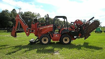 2007 Ditch Witch RT115 w/ H952 Trencher, Cable Plow, A920 Backhoe w/ 190 HOURS!