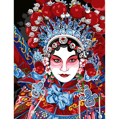 NEW Chinese Opera Tapestry Canvas 60 x 80 cm- Needlework