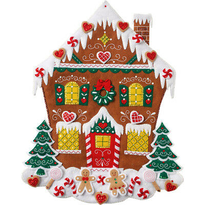 NEW Gingerbread House- Needlework
