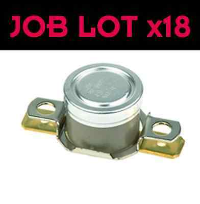 JOB LOT : Honeywell Thermostat : NC 10A 25C : SOLDER TAG : 0 to 186 celsius