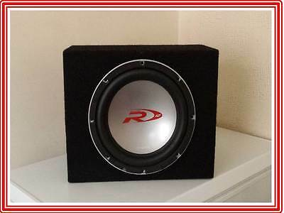 """12"""" Alpine Type-R Subwoofer With Enclosure / Bass Box - SWR-1221D"""