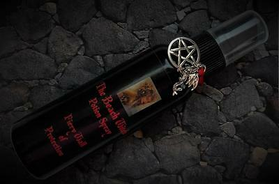FIERY WALL OF PROTECTION Potion Spray Mist  2 oz ~ Wicca Witchcraft  Ritual Oil