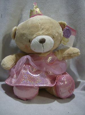 Forever Friends plush 12inch teddy dressed as princess