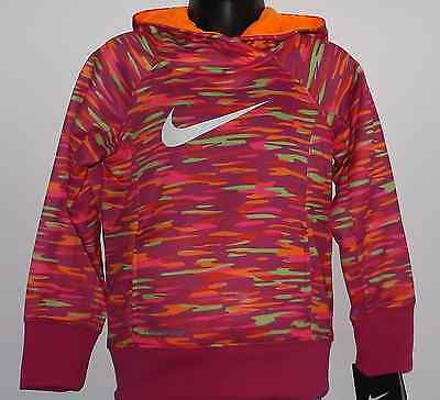 Girl's Nike Toddler Size 3T Sweatshirt Pullover Therma Fit Hoodie 36A208 Nwt