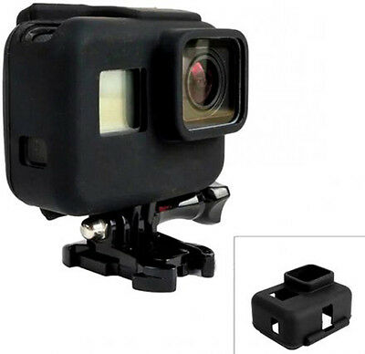 For GoPro HERO 5 6 Silicon Soft Case Protective Dirtproof Skin Rubber Cover
