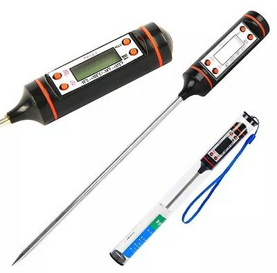 Meat Digital Probe Thermometer Food Temperature Sensor For Cooking Baking Meat