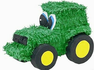 Tractor Pinata - John Deere Farm Themed Birthday Party Supplies & Games