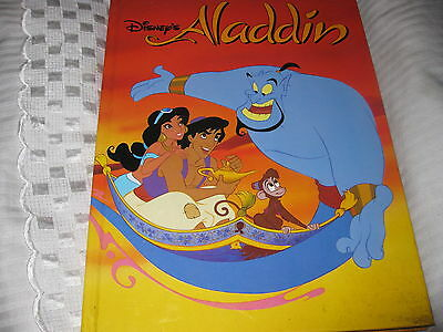 1992 Walt Disney  ALADDIN Book NEW LOOK!