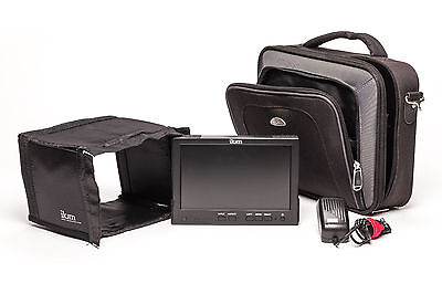 Ikan V8000HD 8 inch Field Monitor with case and accessories