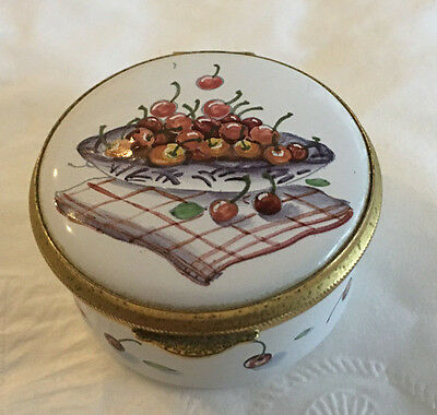 Staffordshire enamels  Box made in the Old Bilston Battersea Tradition