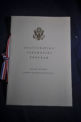 Jimmy Carter Inauguration Ceremonies Program