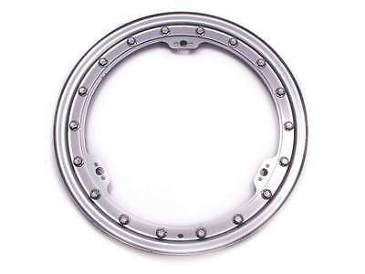 BASSETT Silver Steel Beadlock Ring 15 in Wheels P/N 5KITS